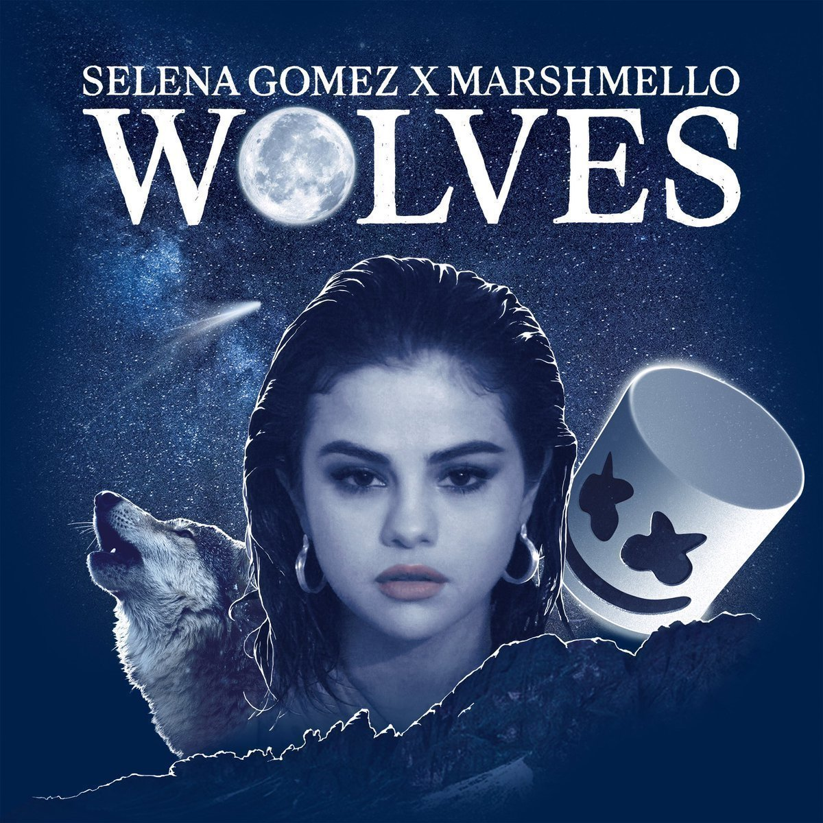 Selena gomez ft marshimello wolves